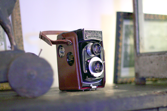 Vintage Yashica Flex Camera